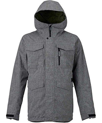 Burton Herren Covert Jacket Snowboardjacke, Bog Heather, L