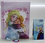 Disney DIARIO Agenda Scuola Frozen Elsa e Anna - 12 Mesi - in Tessuto