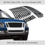 APS Compatible with 07-10 Ford Explorer Sport Trac Billet Grille Combo F67823H