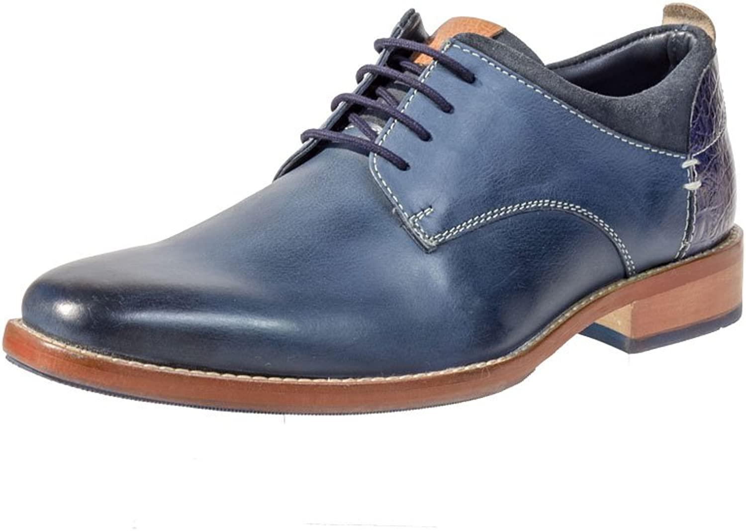 Philipp brown Germany Men's Lace-Up Flats bluee bluee