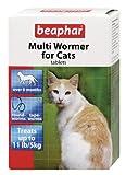 Beaphar Multiwormer for Cats 12 Tablets (Pack of 3)