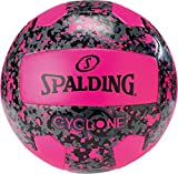 Spalding Beachvolleyball Cyclone SZ.5 (72-341Z) Volleyballs, Juventud Unisex, Pink, 5