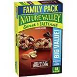 Nature Valley Sweet and Salty Nut Dark Chocolate Peanut and Almond Granola Bars, 18.5 oz, 15ct