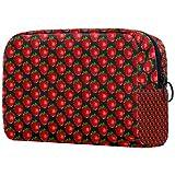 Bolso cosmético portátil del almacenamiento del bolso cosmético de la señora multifuncional del bolso del cosmético, patrón