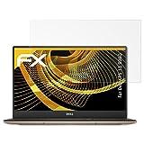 atFolix Panzerfolie kompatibel mit Dell XPS 13 9360 Schutzfolie, entspiegelnde & stoßdämpfende FX Folie (2X)