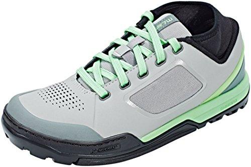 SHIMANO - Zapatillas de Ciclismo para Mujer Grey Mint 40 EU