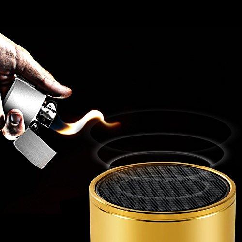 Betron KBS08 Wireless Portable Travel Bluetooth Speaker Gold