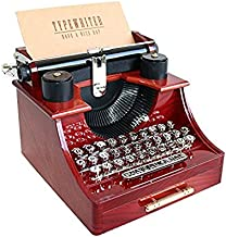 mini vintage typewriter
