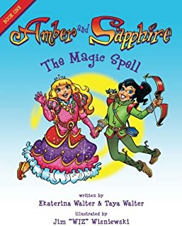 Amber and Sapphire: The Magic Spell (Volume 1)