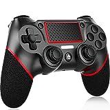 【令和最新版 】PS4 コントローラー ワイヤレス VARWANEO PS4 ワイヤレス ゲームパッド PS4 Pro/Slim PC Win10対応 無線 Bluetooth 人体工学 二重振動