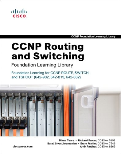 CCNP Routing and Switching Foundation Learning Library, 3 Vols.: Foundation Learning for CCNP ROUTE, SWITCH, and TSHOOT (642-902, 642-813, 642-832) (Self-Study Guide)