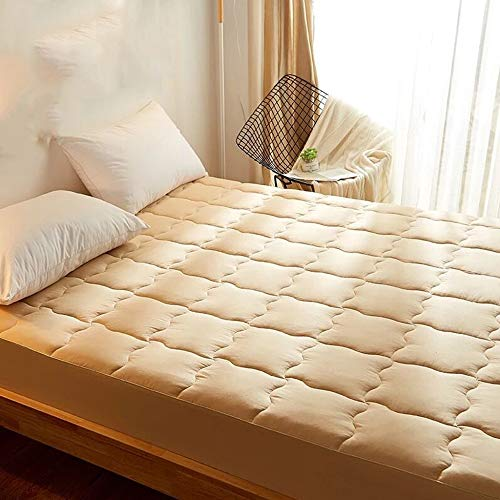 LBYLY Mattress 100% Cotton Mattress Tatami Mattress Non-Slip Mattress Student Dormitory Mattress,120cmx200cm-Yellow