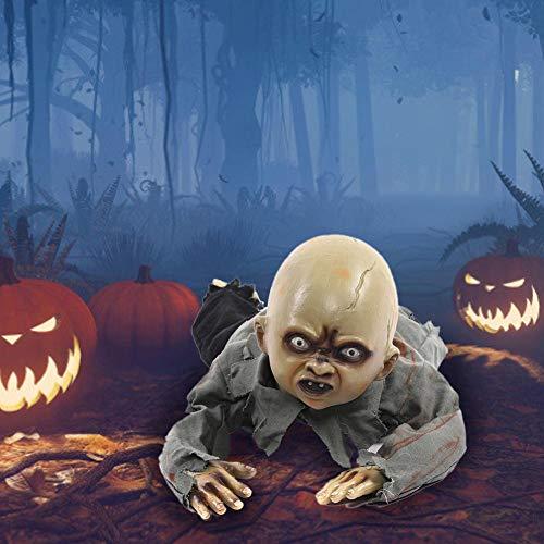 whelsara Rastreo de Halloween Fantasmas, Llamada Adornos Fantasma BB, Bar casa encantada...