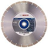 Bosch Professional Diamanttrennscheibe (für Granit und Naturstein, Ø: 350 mm, Zubehör für Winkelschleifer)