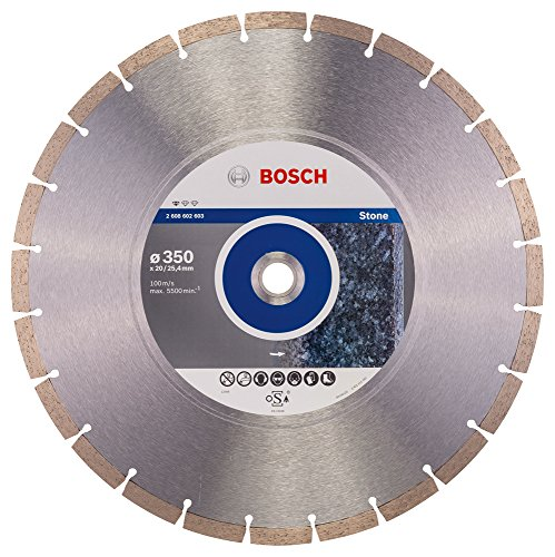 Preisvergleich Produktbild Bosch Professional Diamanttrennscheibe (für Granit und Naturstein,  Ø: 350 mm,  Zubehör für Winkelschleifer)