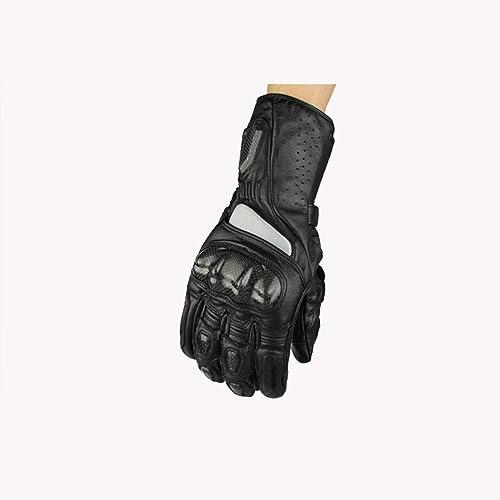 SHIQUNC Hommes Moto Garde au Chaud Gants Tout Le Doigt Antidérapant Gants Coupe-Vent Extérieur Exercice Gants
