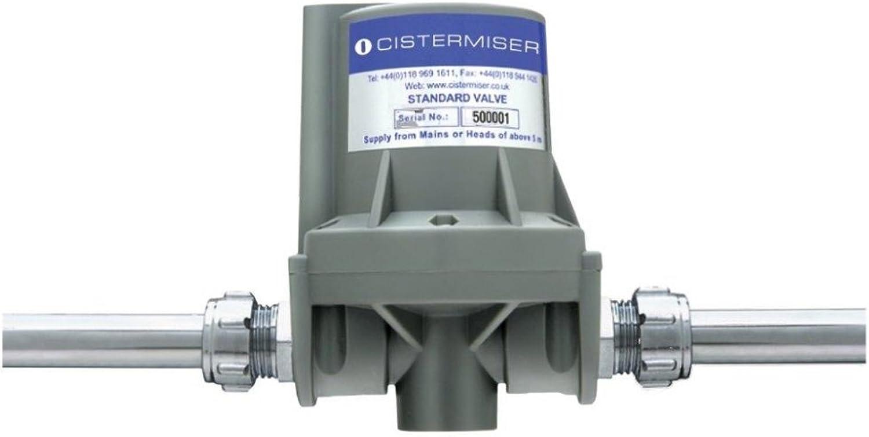 Cistermiser STD Standard Hydraulisches Unrinal Spülventil, Grau