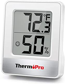 ThermoPro TP49 Digital Hygrometer Indoor Thermometer Humidity Meter Room Thermometer with..