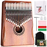 Kalimba 17 Keys Thumb Piano, Easy to Learn Portable Musical Instrument Gifts for Kids Adult Beginners with...