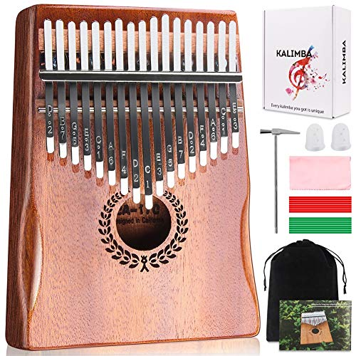 Kalimba 17 Keys Thumb Piano $29.50(41% Off)