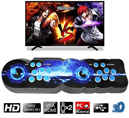 ZEHNHASE 3003 3D Pandora Box Console Juegos 720P HD Arcade Machine Videojuegos Consola Portatil,se Conecta con VGA y HDMI y Salida USB (3003 Juegos)