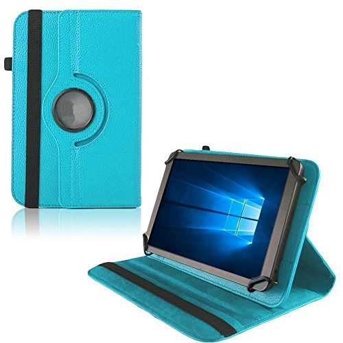 UC-Express Hülle für Verico Unipad 10.1 Tablet Tasche Schutzhülle Universal Case Cover Bag, Farben:Türkis