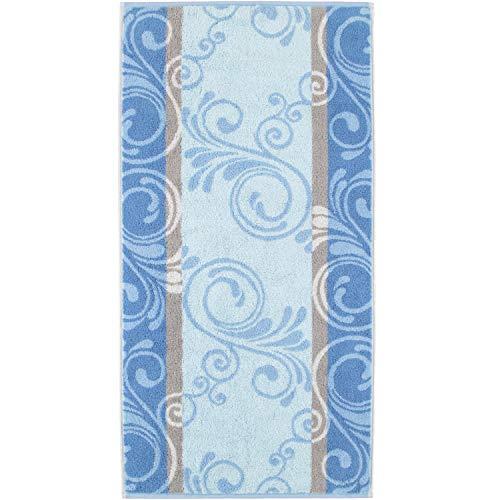 Cawö Home handdoeken Florentine Ornament 196 blauw - 11