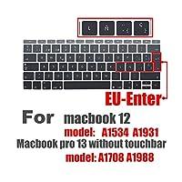 スペイン語EUシリコンキーボードプロテクターカバーfor MacBook用皮膚保護フィルム12インチプロ13カラフルなキーボードフィルムスペイン -A
