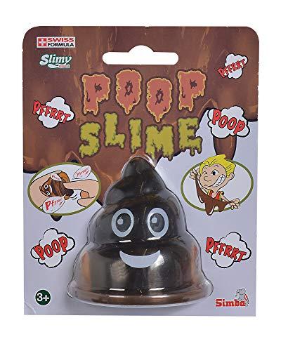 Simba 105956015 - Puuupsi Poop Becher, 80 Gramm, Slime, Schleim, Emoji, ab 3 Jahren