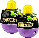 (2 Pack) StarMark Large Bob-A-Lot Interactive Dog Toys