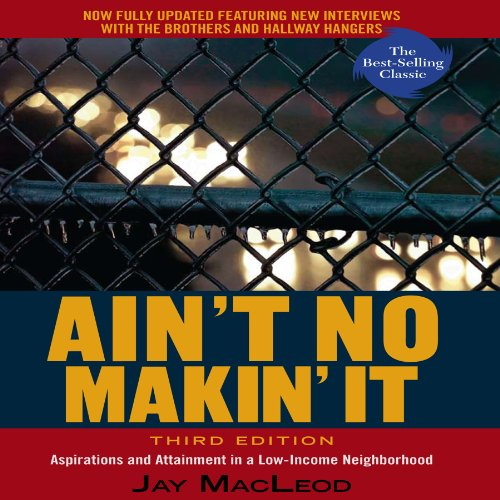 Ain't No Makin' It audiobook cover art