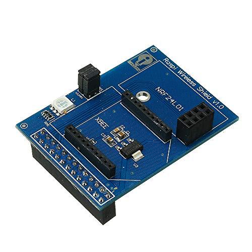 ILS - scheda Shield wireless per Raspberry Pi Support Zigbee-Xbee NRF24L01 NRF24L01 + RFM12B-D fai te Part