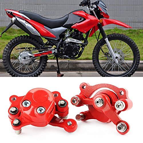 Freno de disco antioxidante, duradero y excelente rendimiento Freno de disco de bicicleta descolorido Aleación de aluminio Fabricado para 43 47 49cc Bicicleta Mini motocicleta