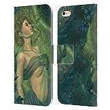 Head Case Designs sous Licence Officielle Tiffany Tito Toland-Scott Naissance Sirènes Coque en Cuir à Portefeuille Compatible avec Apple iPhone 6 Plus/iPhone 6s Plus