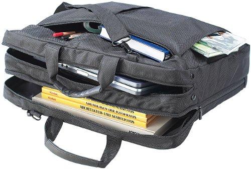 Xcase Computertasche: Notebook-Reisetasche aus Nylon z.B. für 19