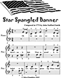 Star Spangled Banner Beginner Piano Sheet Music