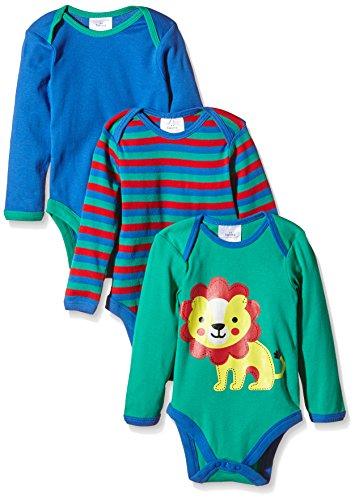 Twins 102032 Body Unisex niños (Pack de 3)
