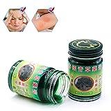 Antipruritische Creme, 50 g, Thai-Balsam, grüne Kräutersalbe, Massage, Muskelgelenke, Verstauchungen, Schmerzen, Balsam