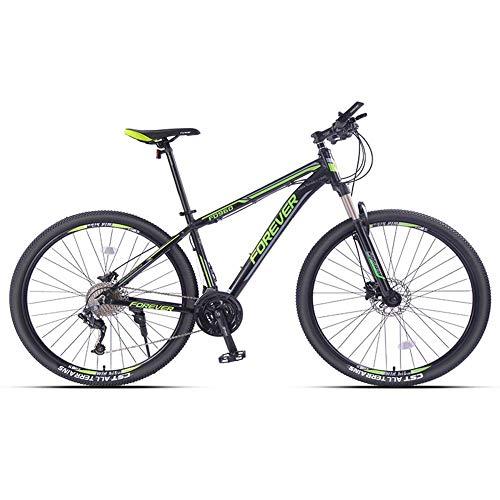 DLC Mountain Bike 26 Pollici / 29 Pollici, Mountain Bike Hardtail per Adulti, Bici da Montagna da Uomo con Telaio in Alluminio 's/Men' S, Bici Antiscivolo con Sospensione Anteriore a 33 Velocità, a
