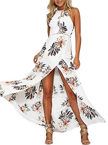 buenos comparativa MODETREND Vestido de manga larga para mujer Vestido largo con espalda escotada Playa Playa … y opiniones de 2021