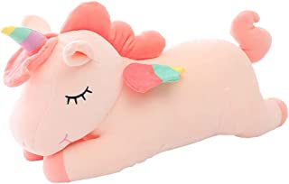 AIXINI Unicorn Stuffed Animal Plush Toy, 31.5 Inch Cute Soft Unicorn Plush Stuffed Animal Toy Doll, Gift for Kids Babies Birthday Party Home Décor
