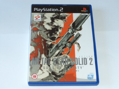 Metal Gear Solid 2 - Sons Of Liberty (PS2) [Importación Inglesa]