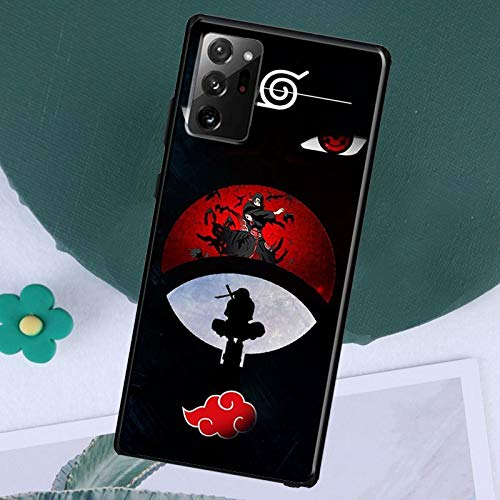 The Case for Note 20 Ultra 5G Anime Naruto Akatsuki Red Clouds Case Coque for Samsung Galaxy S10 E S20 Plus Ultra 5G S8 S9 Plus Note 8 9 10 Plus Cover (5, Galaxy Note 20 Ultra)