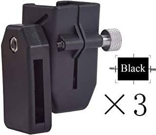 quanlei IPSC USPSA Adjust Angle & Tension CR Speed Pistol Magazine Mag Pouch Universal (Black 3PCS)