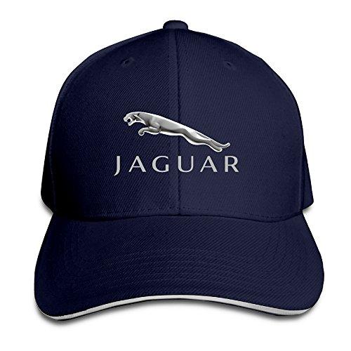 hmkolo Jaguar Sandwich gorras de béisbol para Unisex ajustable -  Azul -