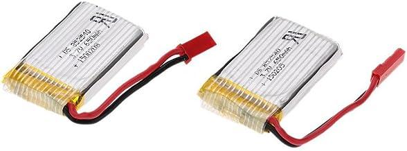 Batterie LiPo Rechargeable de 3.7V 1200mAh avec Prise JST pour Jouet RC VGEBY1 Batterie au Lithium