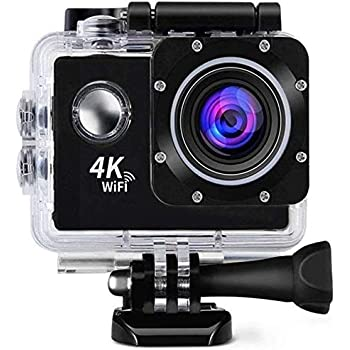 Mabron Drumstone [* 2IN1 Camera - Normal+Sports Use] Wi-Fi Waterproof Sports 4K Camera - Ultra HD 1080P, 16MP, 2 Inch LCD is Play