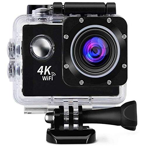 Drumstone [* 2IN1 Camera - Normal+Sports Use] Wi-Fi Waterproof Sports 4K Action Camera - Ultra HD 1080P, 16MP, 2 Inch LCD Display