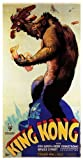 Poster World Ltd King Kong 1933' Version. Fay Wray & Robert Armstrong Vintage Grand 1933 Affiche Film 2 - Super A1 Taille 61x91cm