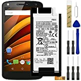 for Motorola Moto X Force XT1581,X Force XT1580 Replacement Battery,for FB55 Battery SNN5958A Battery with Adhesive Tape Tool Repair Kit